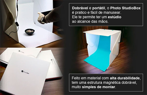 photo studio box mini estudio fotografico