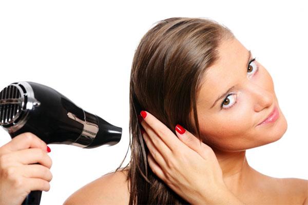 Secando os cabelos da forma certa